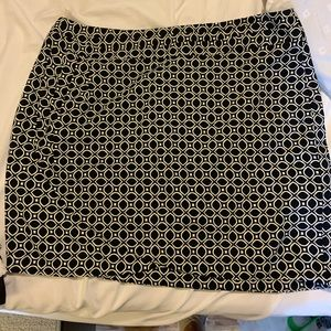 NWT Banana Republic navy skirt